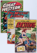 Golden Age (1938-1955):Miscellaneous, Comic Books - Assorted Golden Age Comics Group (Various Publishers, 1940s) Condition: Average GD+.... (Total: 8 Comic Books)