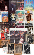 Basketball Collectibles:Programs, 1982-84 Michael Jordan UNC Publications & Photos Lot of 14. ...