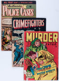 Golden Age (1938-1955):Crime, Comic Books - Assorted Golden Age Crime Comics Group (Various Publishers, 1940s-'50s) Condition: Average GD-.... (Total: 8 Comic Books)