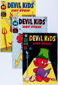 Silver Age (1956-1969):Cartoon Character, Devil Kids Starring Hot Stuff File Copies Box Lot (Harvey, 1963-81) Condition: Average NM-....