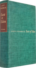Books:Literature 1900-up, John Steinbeck. East of Eden. New York: The Viking Press, 1952. First edition, one of 1,500 copies signed by Stein...