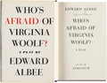 Books:Literature 1900-up, Edward Albee. Who's Afraid of Virginia Woolf? A Play.New York: Atheneum, 1962. First edition. Signed by the a...