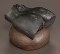 Fine Art - Sculpture, American:Contemporary (1950 to present), ROBERT GRAHAM (American, 1938-2008). Torso Fragment (two-piece sculpture). Bronze with brown and red patina. 3-3/4 i... (Total: 2 Items)