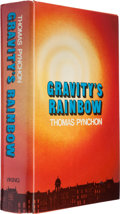 Books:Science Fiction & Fantasy, Thomas Pynchon. Gravity's Rainbow. New York: The VikingPress, [1973]. First edition, hardcover issue. Octavo. [... (Total:3 Items)