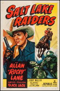 "Movie Posters:Western, Salt Lake Raiders (Republic, 1950). One Sheet (27"" X 41""). Western.. ..."