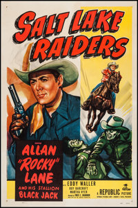 "Salt Lake Raiders (Republic, 1950). One Sheet (27"" X 41""). Western"