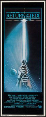"Return of the Jedi (20th Century Fox, 1983). Insert (14"" X 36"") Style A. Science Fiction"
