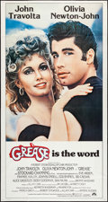"Movie Posters:Musical, Grease (Paramount, 1978). International Three Sheet (41"" X 77""). Musical.. ..."