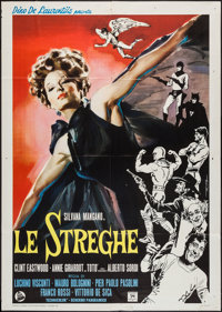 """The Witches (Dear Films, 1966). Italian 2 - Foglio (39"""" X 55""""). Foreign"""
