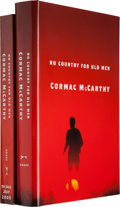 Books:Literature 1900-up, Cormac McCarthy. No Country for Old Men. New York: Alfred A.Knopf, 2005. First edition. Signed by McCarthy on a t... (Total: 2Items)