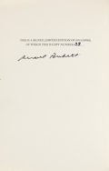 Books:Fine Bindings & Library Sets, Samuel Beckett. The Collected Works of Samuel Beckett. New York: Grove Press, [1970]. First edition of this collec... (Total: 16 Items)