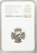 Ancients:Greek, Ancients: MACEDONIAN KINGDOM. Alexander III the Great (336-323 BC).AR drachm (4.21 gm)....