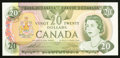 Canadian Currency: , BC-54c-i $20 1979. ...