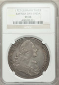 German States:Bavaria, German States: Bavaria. Three Certified Coins,... (Total: 3 coins)