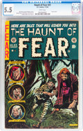 Golden Age (1938-1955):Horror, Haunt of Fear #23 (EC, 1954) CGC FN- 5.5 White pages....