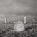 Photographs, FAY GODWIN (British, b. 1931). Stones of Stenness, Orkney, 1977. Gelatin silver. 7 x 7 inches (17.8 x 17.8 cm). Signed i...