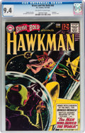 Silver Age (1956-1969):Superhero, The Brave and the Bold #44 Hawkman (DC, 1962) CGC NM 9.4 Off-white to white pages....