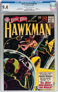 The Brave and the Bold #44 Hawkman (DC, 1962) CGC NM 9.4 Off-white to white pages