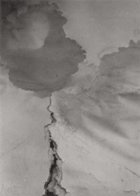 SUSAN BARON (American, 20th Century) Abstraction Gelatin silver 3 x 2-1/8 inches (7.6 x 5.4 cm)