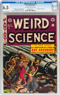 Golden Age (1938-1955):Science Fiction, Weird Science #17 (EC, 1953) CGC FN+ 6.5 Off-white to whitepages....