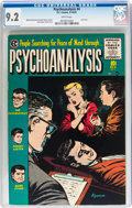 Golden Age (1938-1955):Horror, Psychoanalysis #4 (EC, 1955) CGC NM- 9.2 White pages....
