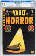 Golden Age (1938-1955):Horror, Vault of Horror #16 (EC, 1950) CGC FN/VF 7.0 Off-white pages....