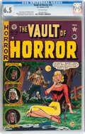Golden Age (1938-1955):Horror, Vault of Horror #19 (EC, 1951) CGC FN+ 6.5 Off-white pages....
