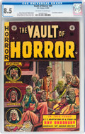 Golden Age (1938-1955):Horror, Vault of Horror #29 (EC, 1953) CGC VF+ 8.5 Off-white to whitepages....