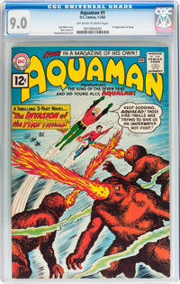 Aquaman #1 (DC, 1962) CGC VF/NM 9.0 Off-white to white pages
