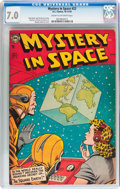 Golden Age (1938-1955):Science Fiction, Mystery in Space #22 (DC, 1954) CGC FN/VF 7.0 Cream to off-whitepages....