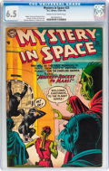Golden Age (1938-1955):Science Fiction, Mystery in Space #23 (DC, 1955) CGC FN+ 6.5 Cream to off-whitepages....