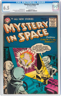 Golden Age (1938-1955):Science Fiction, Mystery in Space #26 (DC, 1955) CGC FN+ 6.5 Cream to off-whitepages....