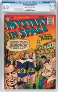 Golden Age (1938-1955):Science Fiction, Mystery in Space #28 (DC, 1955) CGC VG/FN 5.0 Cream to off-whitepages....