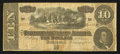 Confederate Notes:1864 Issues, T68 $10 1864 PF-1 Cr. 540.. ...