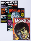 Magazines:Horror, Famous Monsters Group (Warren, 1965-81) Condition: Average VF.... (Total: 27 Comic Books)