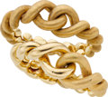 Estate Jewelry:Bracelets, Weingrill Gold Bracelets. ...