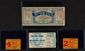 Football Collectibles:Tickets, 1951-67 New York Giants Ticket Stubs Lot of 4....