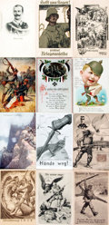 "Miscellaneous:Postcards, [Postcards]. Group of Twenty German World War I Themed Postcards.[n.d., ca. 1910s]. Most measuring approximately 3.5"" x 5.5..."