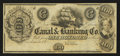 Obsoletes By State:Louisiana, New Orleans, LA - The New Orleans Canal & Banking Co. $100 18__ Remainder. ...