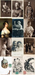 Miscellaneous:Postcards, [Post Cards]. Group of Twenty-three Post Cards Depicting German Royalty or Military Themes. Various publishers. [n.d., ca. 1...