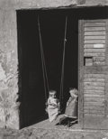 Photographs:Gelatin Silver, ANDRÉ KERTÉSZ (Hungarian, 1894-1985). Untitled (The Swing),circa 1920. Gelatin silver. 9-3/4 x 7-1/2 inches (24.8 x 19....