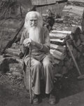 Photographs, IMOGEN CUNNINGHAM (American, 1883-1976). My Father at Ninety, 1936. Gelatin silver. 9-5/8 x 7-3/4 inches (24.4 x 19.7 cm...