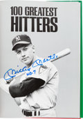 Baseball Collectibles:Publications, 1988 100 Greatest Hitters & Pitchers Multi Signed Books With 90Signatures. ...