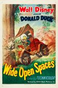 "Movie Posters:Animation, Wide Open Spaces (RKO, 1947). One Sheet (27"" X 41"").. ..."