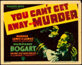 """Movie Posters:Crime, You Can't Get Away with Murder (Warner Brothers, 1939). Title LobbyCard (11"""" X 14"""").. ..."""