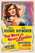 """Movie Posters:Musical, You Were Never Lovelier (Columbia, 1942). One Sheet (27"""" X 41"""")Style B.. ..."""