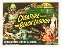"Creature from the Black Lagoon (Universal International, 1954). Half Sheet (22"" X 28"") Style B"