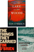 Books:Literature 1900-up, Tim O'Brien. Collection of Three First Editions, Each Signed byO'Brien on the Title-Page. Including: Northern Lights....(Total: 3 Items)