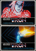 "Movie Posters:Science Fiction, Tron (Buena Vista, 1982). Italian Photobusta Set of 8 (18.25"" X26""). Science Fiction.. ... (Total: 8 Items)"