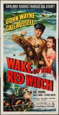 """Movie Posters:Adventure, Wake of the Red Witch (Republic, 1949). Three Sheet (41"""" X 80""""). Adventure.. ..."""